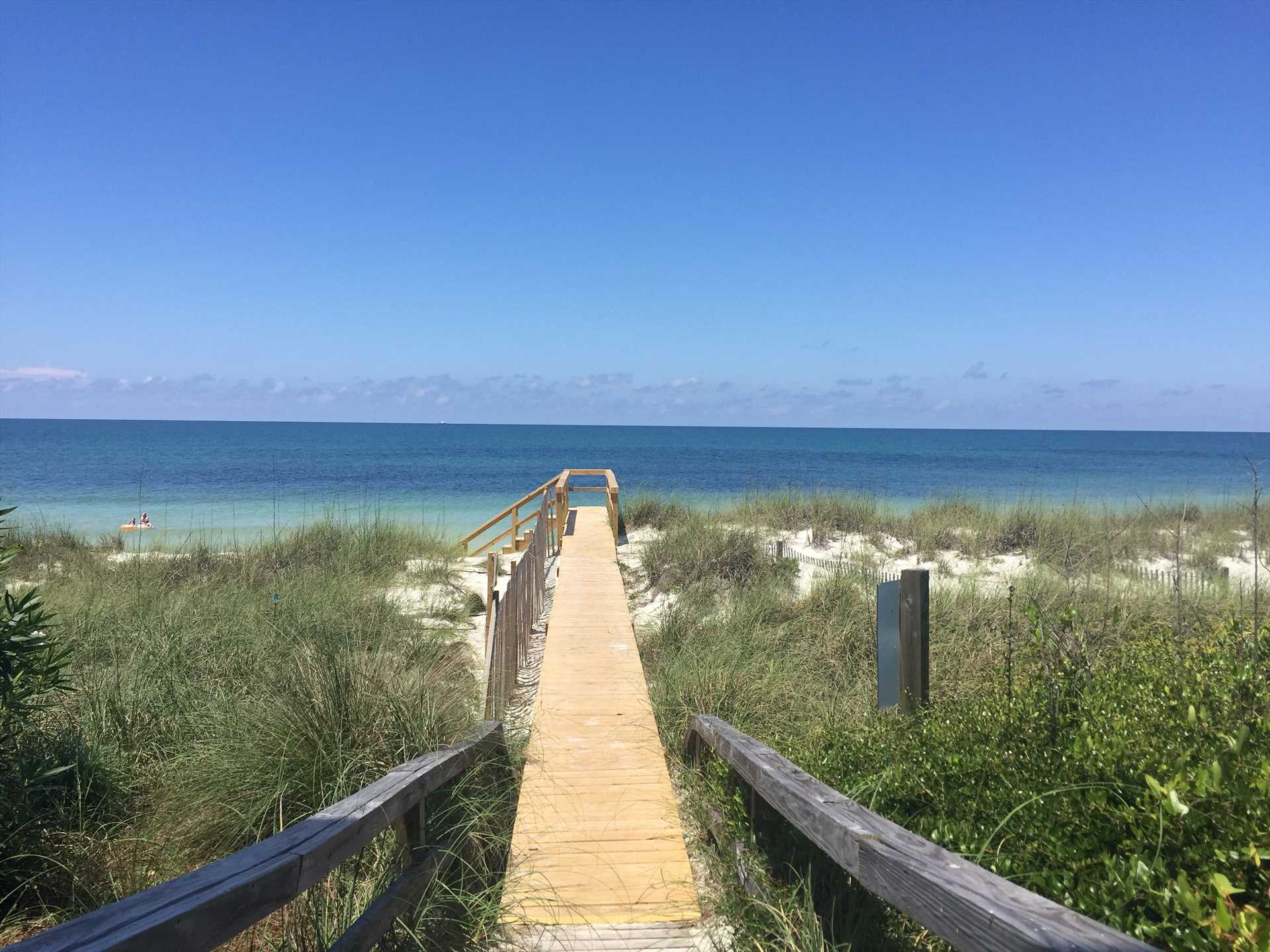 Walkover to the Gulf